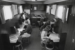 College IV's Module Mobile as a classroom